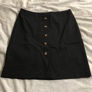 Black Long Circle Skirt